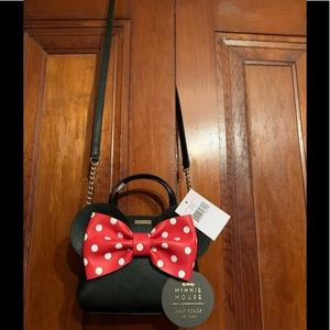 Brand New !! Kate Spade Minnie Mouse Crossbody